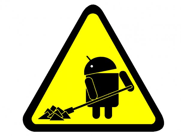 Android Logos (Funny) | Kakha Giorgashvli's Blog Under Construction Logo